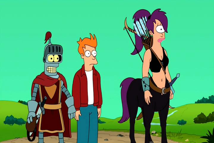 Футурама: Игра Бендера / Futurama: Bender's Game (2008) DVD5