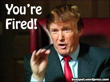 donald trump you're fired