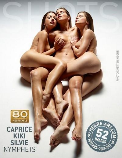 HEGRE-ART - Caprice, Kiki & Silvie - Nymphets