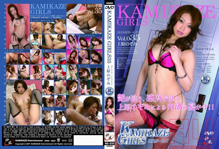 Kamikaze.Girls 35 uncensored Cover